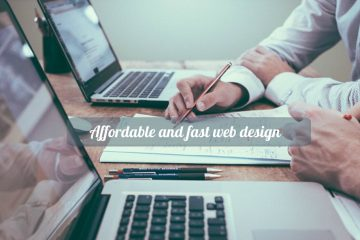 affordable and fast web design